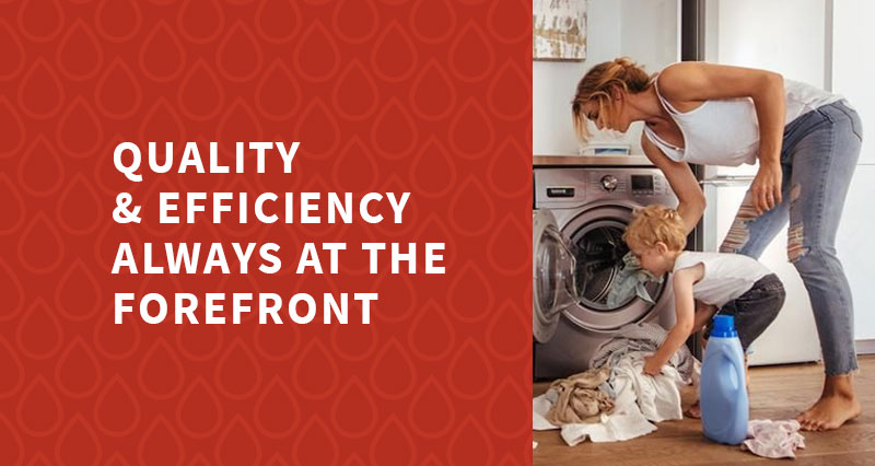 Quality & Efficiency Always at the Forefront